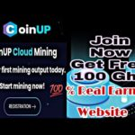 EARN FREE BITCOIN Mining Site COINUP  | 💯 % Real Website 2020 | Dailynete