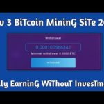 New Free Zero InvesTmenT Bitcoin MininG Websites 2020 | How To Earn Money online Totally Free 😘