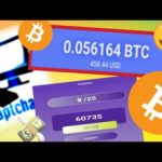 Earn Bitcoin by solving simple captcha 100% paying // captcha go 2020