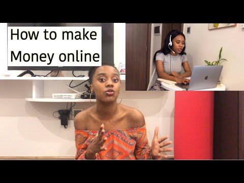 How to make money online // how I make money online // Herself tracyganda