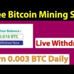 Free Bitcoin Mining Site – Live Withdraw – Earn 0.003 BTC Daily – Saylex – Hashpro