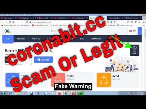 coronabit.cc Scam Or Legit | Double your Bitcoin In 24 Hours |Legit bitcoin investment2020 | Youtube