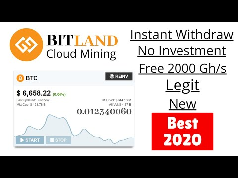 BEST LEGIT BITCOIN MINING WEBSITE | EARN FREE BITCOIN
