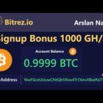 Bitrez.io – Earn Free Bitcoin 2020 | New Free Bitcoin Mining Site – Free Signup Bonus 1000 GH/s