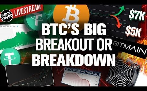 BITCOINs Next Big MOVE Begins NOW! Up or Down!?