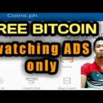 FREE BITCOIN by Watching ADS | online job philippines