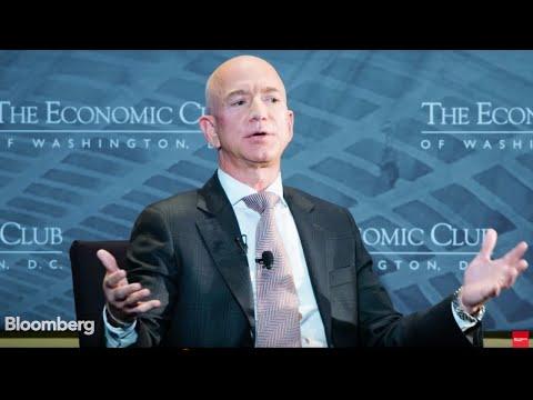 Jeff Bezos Live   Amazon, Bitcoin Evolution, Anti-Bearish Coalition, Investments News