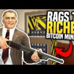 MAKING THOUSANDS FROM BITCOIN MINING - Gmod DarkRP | Rags to Riches #13 (Bitcoin Miner Roleplay)