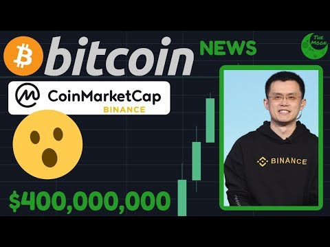 BREAKING NEWS: $400,000,000 DEAL AS BINANCE BUYS COINMARKETCAP!!