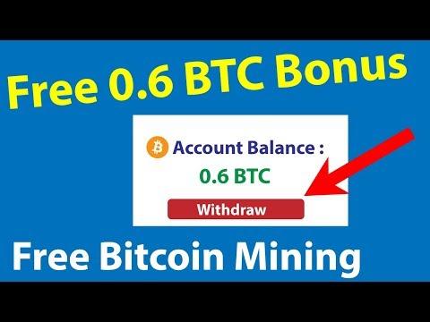 Free Bonus Offer 0.6 BTC - Free Bitcoin Mining Site - Btccoinface live deposit