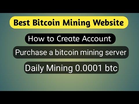 Best Bitcoin Mining Website 2020, #Ultra miner, Daily mining  0.0001 btc