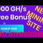New Free Bitcoin Mining Site 2020. Earn Daily 0.00010 BTC. Sign-up Bonus 1000 GH/S.