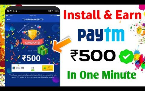 BEST NEW EARNING APPS FOR ANDROID 2020 | EARN MONEY ONLINE | ₹50 ADD INSTANT PAYTM CASH
