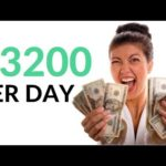 Earn $3200 Per Day for FREE On AUTOPILOT! (Make Money Online)