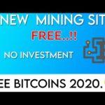 New 2 Free Bitcoin Mining Sites 2020