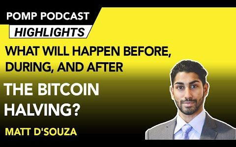 What Will Happen Before, During, and After the Bitcoin Halving? Matt D'Souza Weighs In
