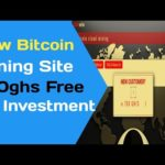 New Free Bitcoin Mining Site review 750ghs Free ||No investment