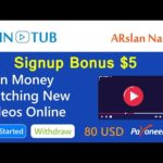 Wintub: Watch Paid Videos Online | Make Money Online - Earn Free USD |  Signup Bonus $5 in Hindi