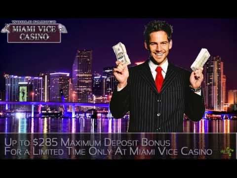 DatSyn News – Up to $285 Maximum Deposit Bonus For a Limited Time Only At Miami Vice Casino