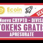 Tokens Gratis E coin SCAM?  por qué mas de 2 millones Bitcoin airdrop ecoin Explicación español