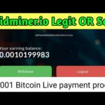 Solidminer.io - Legit or scam Live Withdraw Payment proof | Earn free Bitcoin zero - invest | Hindi