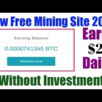 New bitcoin mining site 2020 | earn free bitcoin $2 daily without Any investment | live proof