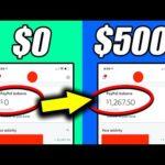 Make $500 INSTANTLY FOR FREE *New Website* (Make Money Online)
