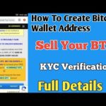 How to Create Bitcoin Wallet Address&Sell Your BTC||SM TECH GROUP