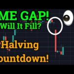 NEW CME GAP! Bitcoin Halving Countdown! (Cryptocurrency News + Bybit Trading + Price Analysis)