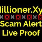 Millioner.Xyz Scam Alert Live Proof