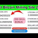 ✅ How To Earn Money Online 2020 | Best Legit Bitcoin Mining Sites 2020 | Feee Online Earning 2020