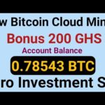 New Free Bitcoin Mining Sites 2020 | 0.006 BTC Earn Without Investment | Top Free BTC Mining Site