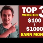 Top 3 Websites To Earn Money Online As A Freelancer |Part Time Work/Job| Work From Home - Daily Job
