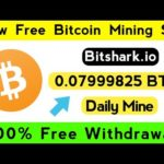 Bitshark.io scam/legit site Review  100% Free Withdrawa  New Bitcoin Mining Site Without Investment