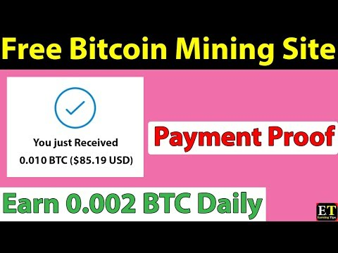 New Free Bitcoin Mining Site - With Payment Proof - Freemining