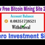 🤑 Wow New Free Cloud Bitcoin Mining Site 2020 / Minimum Withdrawal 0.002 btc Zero Investment Site