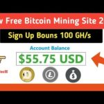 Elbit.io Scam or Legit||New Free Bitcoin Mining Site 2020||Sign Up Bouns 100 GH/s.