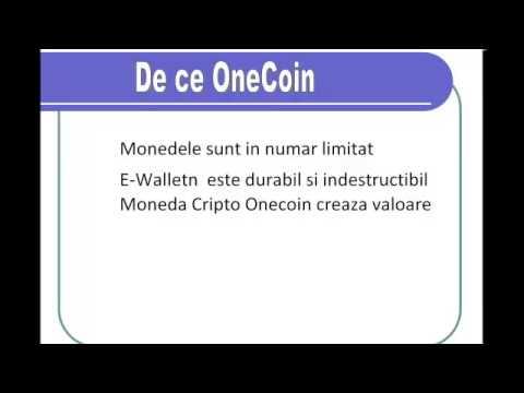 Prezenatrea OneCoin De Ce Onecoin