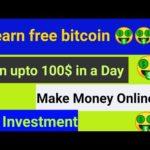 Earn Free Bitcoin | Earn Upto 100$ in a day | Online Job In Nepal | Make Money Online In Nepal