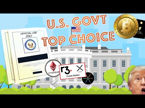 BREAKING NEWS! U.S. Government Chooses Their TOP BLOCKCHAIN PROJECT! Bitcoin EXPLODES! Visa + BTC!