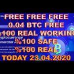 Free Bitcoin Mining April 2020 Payment Proof