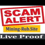 Mining-Rub.Site Scam | New Free Bitcoin Cloud Mining Site 2020 | Live Proof
