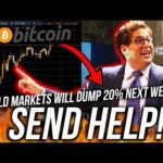 I LOST $2000! WARNING ⚠️ BITCOIN BULLTRAP! World Finance News! Live Trading BTC! ETH DOWJ Analysis