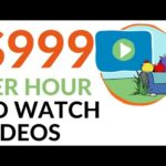 Earn $999 in 1 Hour WATCHING VIDEOS! (Make Money Online)