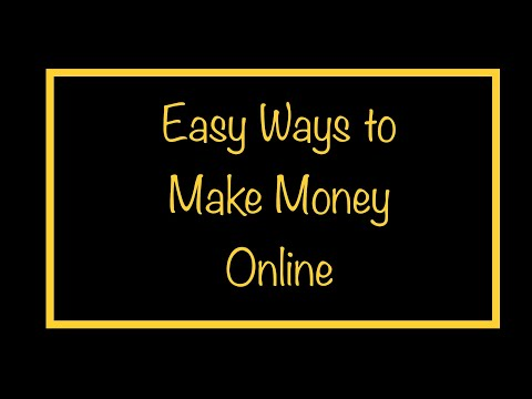 6 Easy Ways to Make Money Online or from Home During Isolation