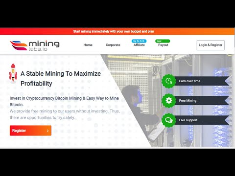 Bitcoin mining 2020 | Bitcoin mining software | Bitcoin mining | mininglabs  scam or legit | review