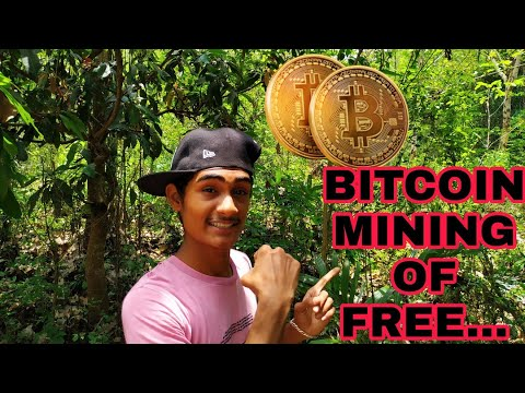 HOW TO STARTED BITCOIN MINING FOR  FREE..