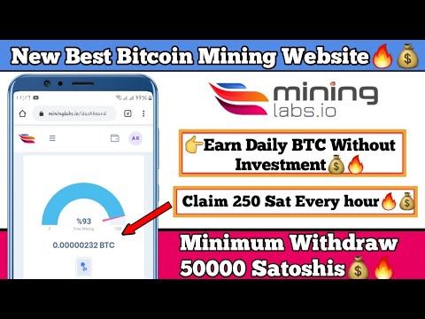 Mininglabs.io Website || Best Free Bitcoin Mining Website || Earn Bitcoin Without Investment || Btc