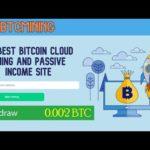 Free BTC Mining - New Bitcoin Cloud Mining Site 2020 I Earn 0.001 Bitcoin Daily Live Proof