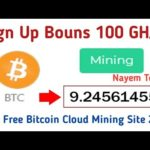 Hashter Scam or legit||New Free Bitcoin Cloud Mining Site 2020||Sign Up Bouns 100GH/s